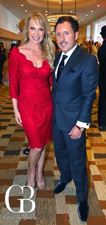 Bridget Naso with Vince Heald