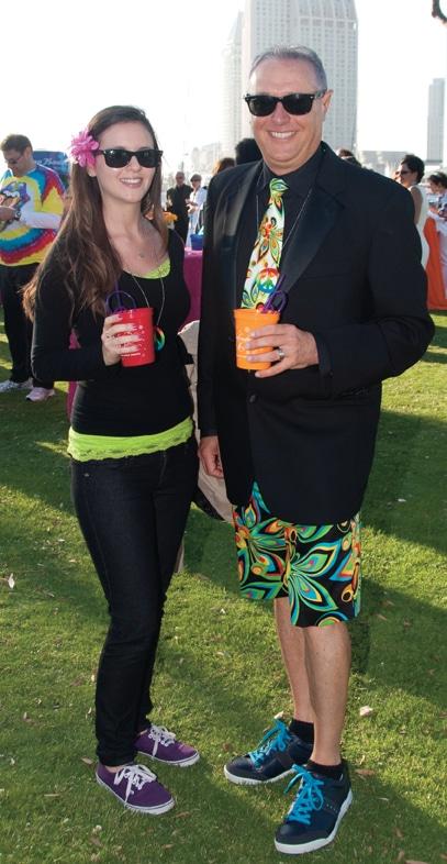 Brielle and Seth Goldman +