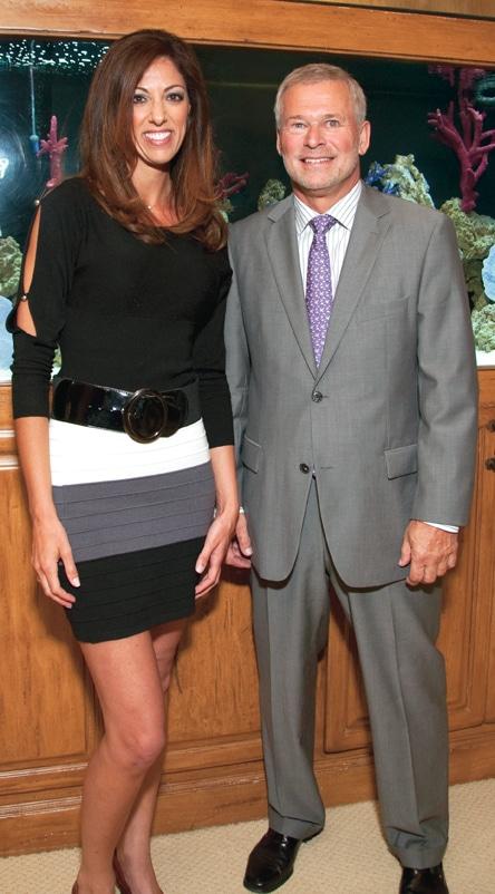 Brooke Landau and Randy Woods