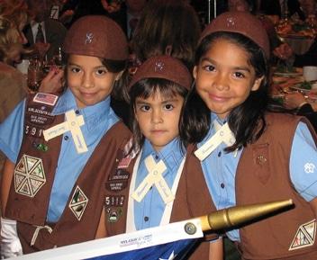 Brownies from Irene Barajas's Troop