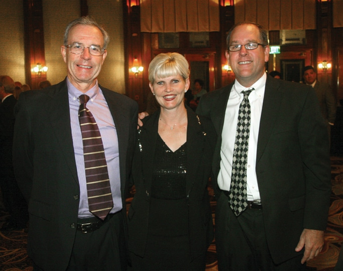 Bruce Bigelow with Tonya and Kevin Carroll.JPG