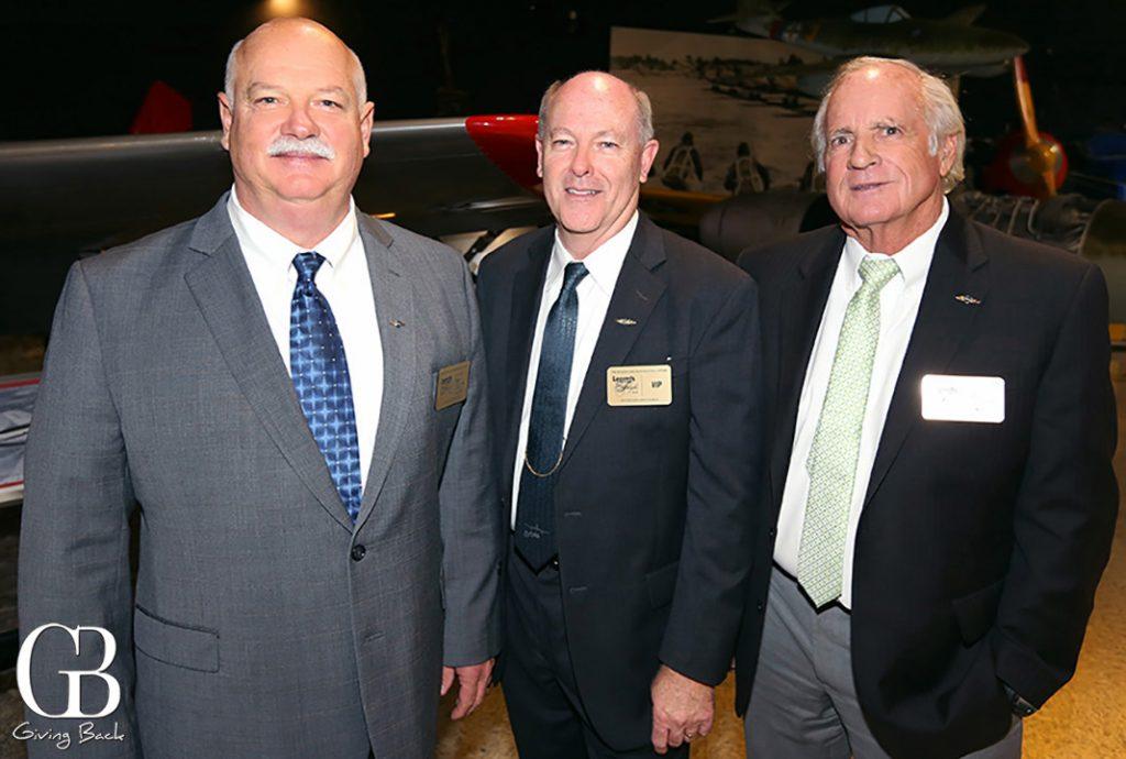 Bruce Johnson  Gary Dyson and Jack McHale
