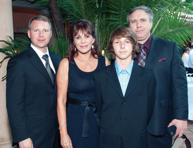 Bryce Formo, Linda Brandes, Chance Formo and Chad Formo