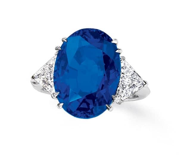 Burmese Sapphire Ring