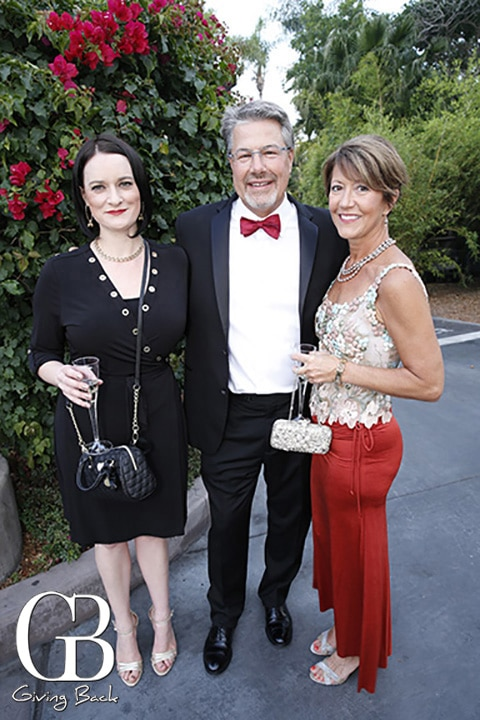 Caitlin Gale with Philip and Nancy Seeger