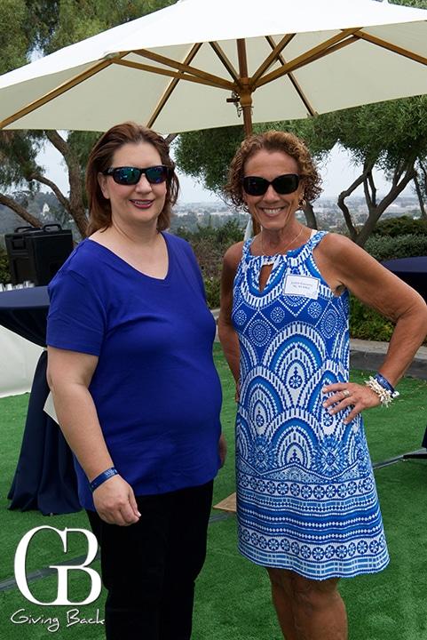 Camille Merchant and Judi Gaccetta