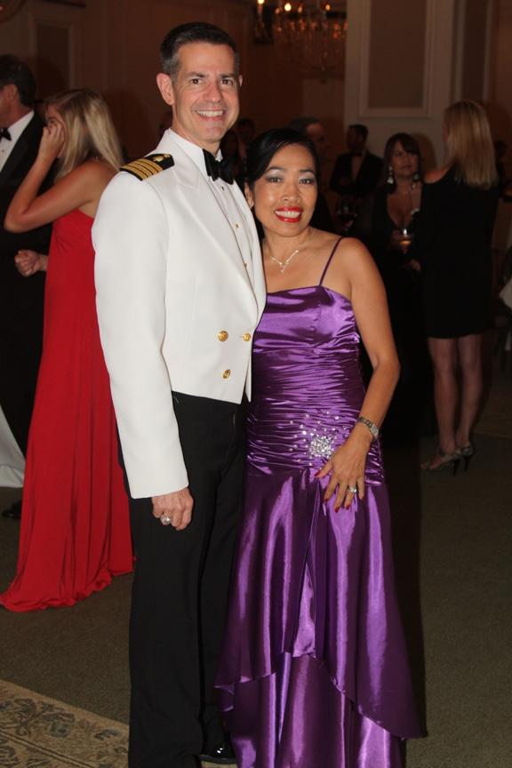 Captain J.C. Nicholson and Linda Nicholson