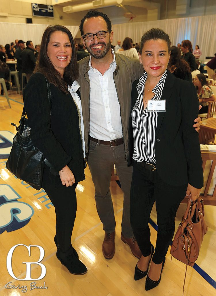 Carla Fimbres with Javier and Isella Esparza