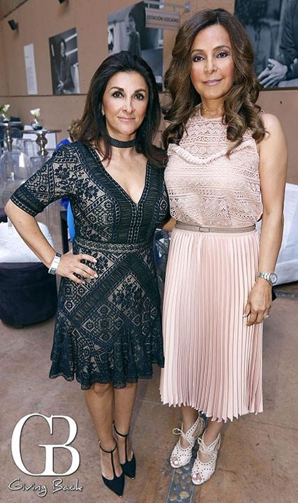 Carla Stanford y Sonia Miranda