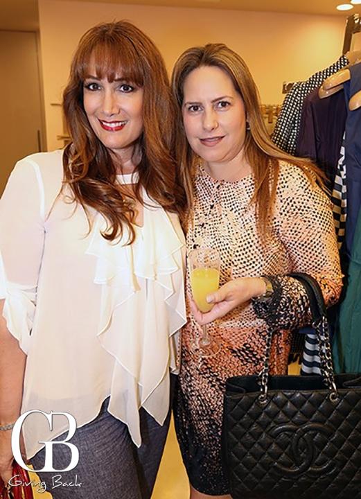 Carla del Rio y Gloria Elena Vega
