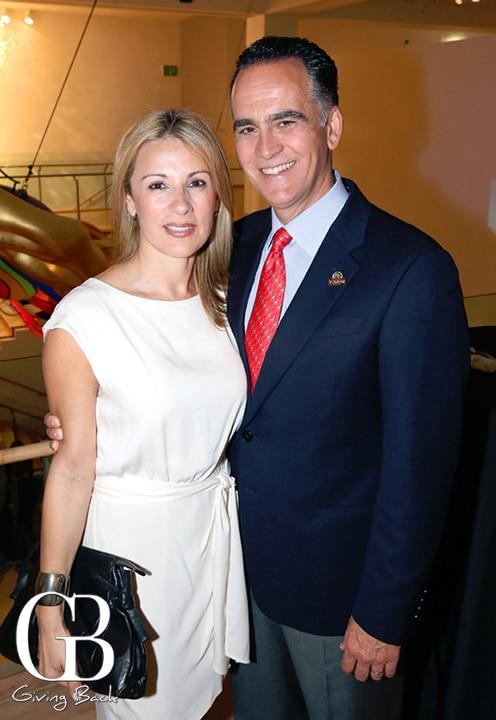 Carla y Xavier Peniche