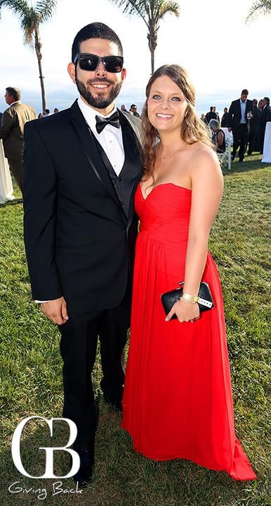 Carlos Carriedo and Tara Fuerst