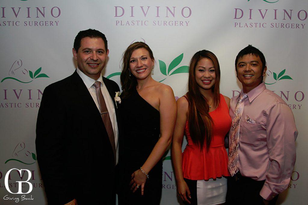 Carlos Chacon and Irina Bilenkaya with Jane and Marc Matanza