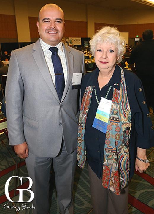 Carlos Cuevas and Councilwoman Pamela Bensoussan
