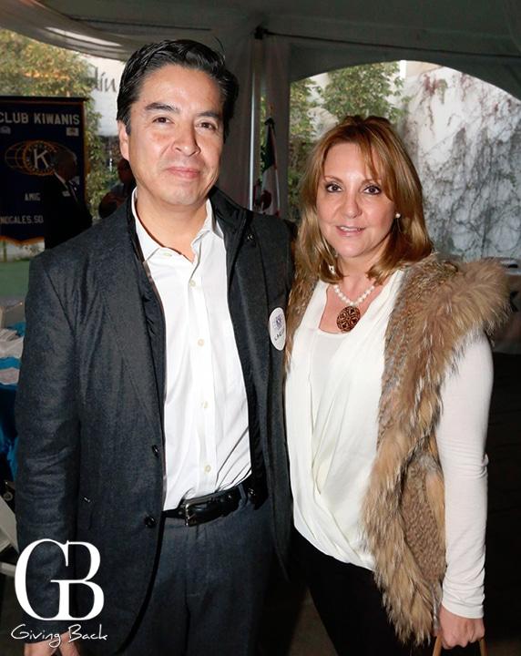 Carlos Velasco y Maria Luisa Monar