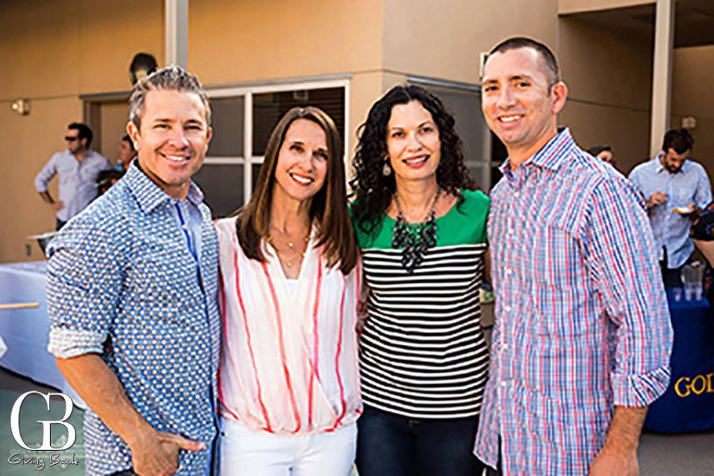 Carlos and Shana Sanguinetti with Jen and Matt Teeter