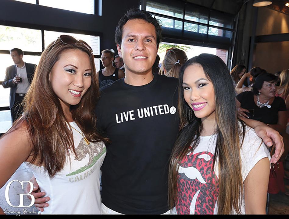 Carlynne Yu  Roberto Garcia and Jennifer Pengson