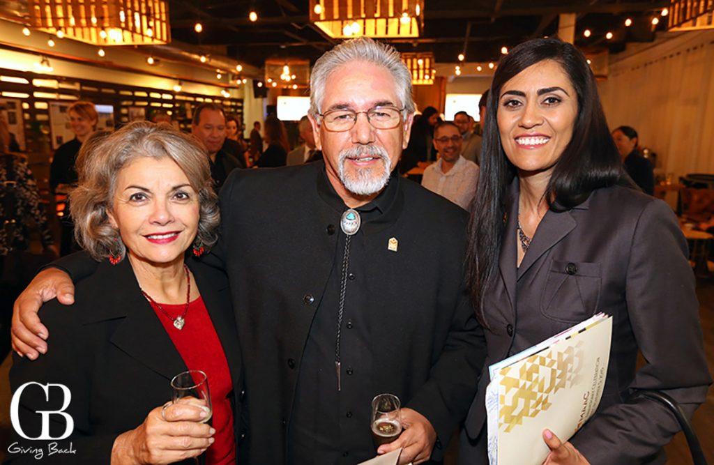 Carmen Quintana  Tony Valladolid and Viviana Ochoa