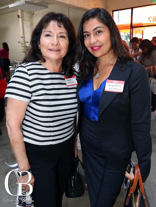 Carmen Spurling and Jacqueline Reynoso