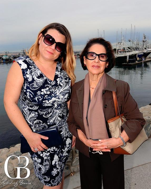 Carmen Verduzco y Georgina Serrano