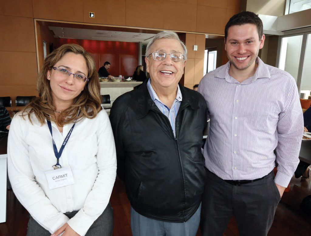 Carmit Avidan Shpalter, Jose Galicot y Yonatan Machado.JPG