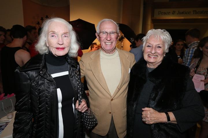 Carol Stern with Charley and Gloria Melville.JPG
