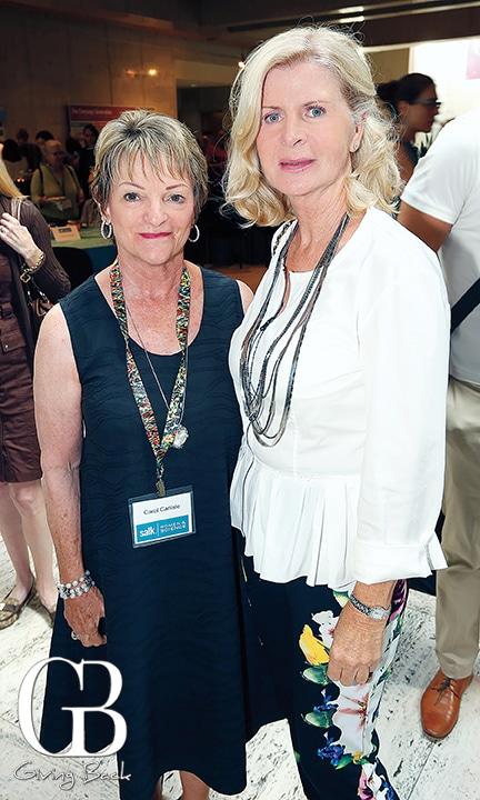 Carol Carlisle and Tanya McCabe