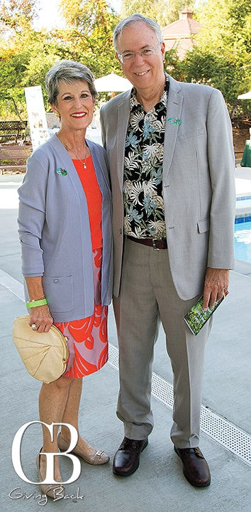 Carol Fitzgibbons and Christopher Smith