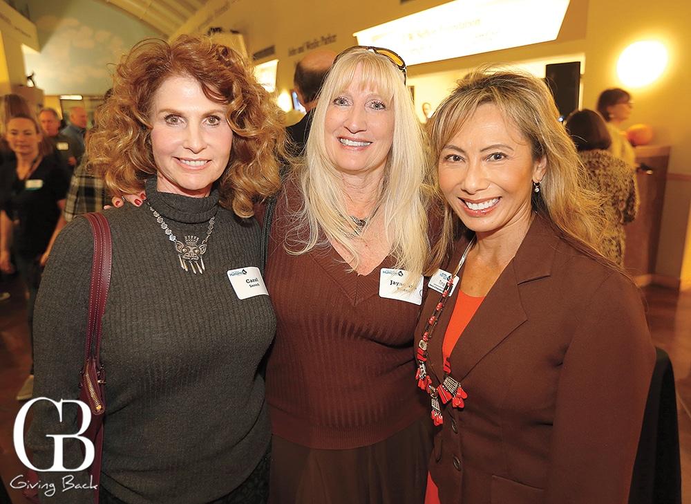 Carol Lorsch  Jyne Ann Rascon and Tina Nguyen