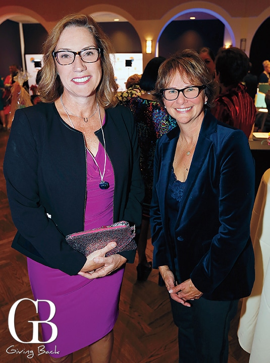 Carol Stachwick and Marsha Berkson