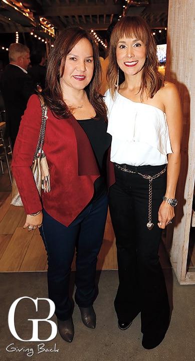 Carolina Bustamante de Garcia and Myrna Prieto