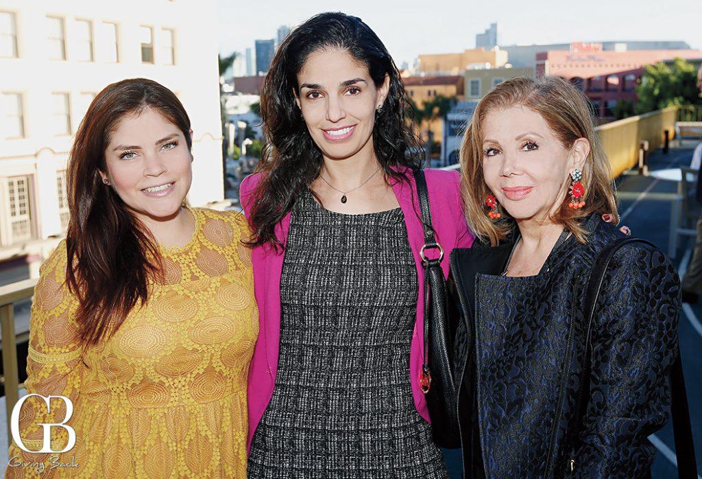 Carolina Chavez  Heidy Salum and Martha Varela
