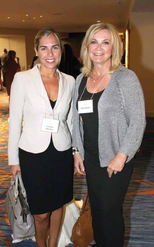Caroline Morrison and Carol Larson.JPG