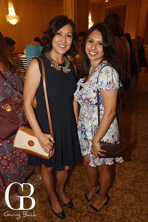 Caroline Barberio and Alicia Soto