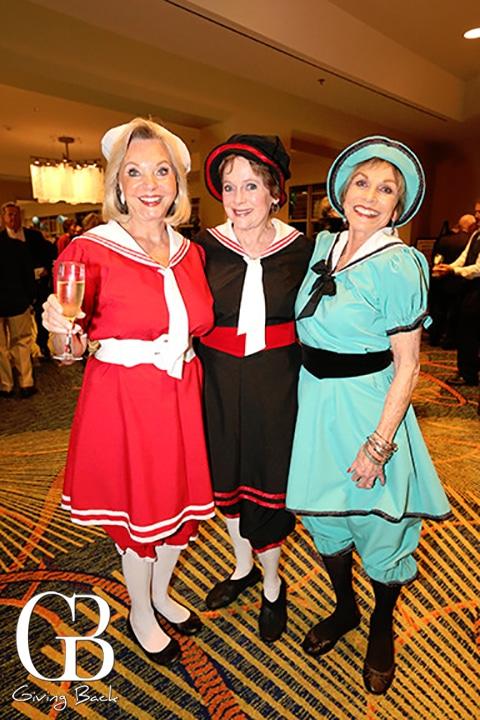 Carolyn Ayres  Penny Duermeyer and Doug St. Denis