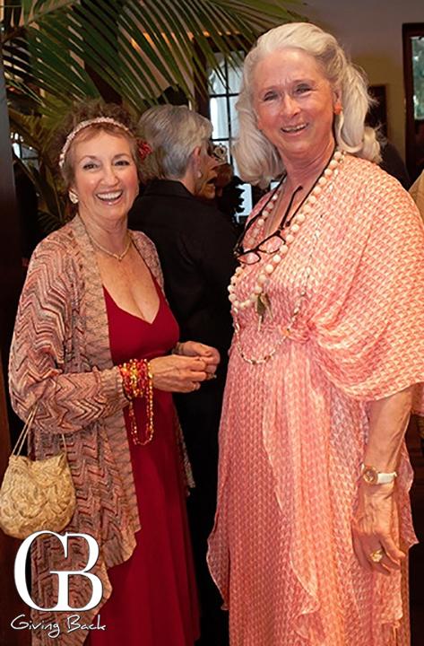 Carolyn Boline and Marilyn Miles
