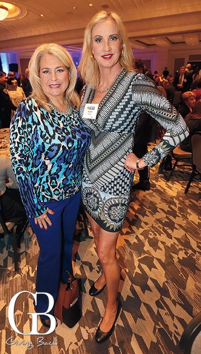 Carrie Woodland and Sophia Alsadek