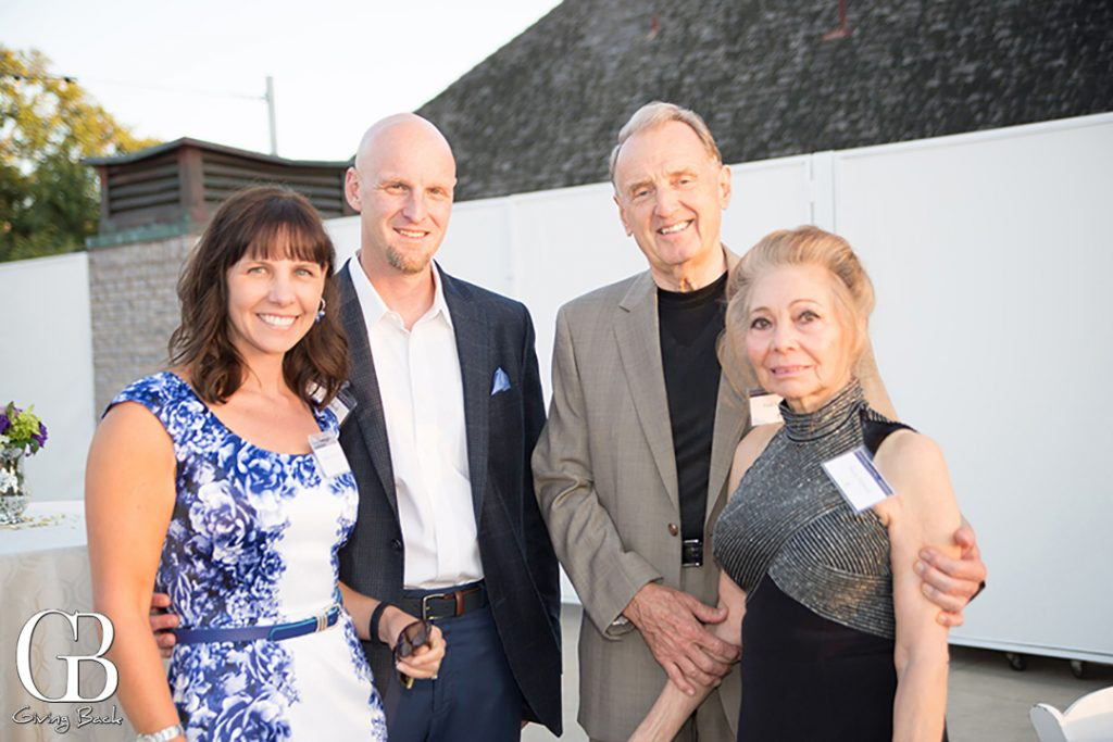 Carrie and Tom Campbell with Paul and Maria Schmid