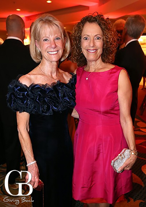 Catherine Blair and Linda Katz