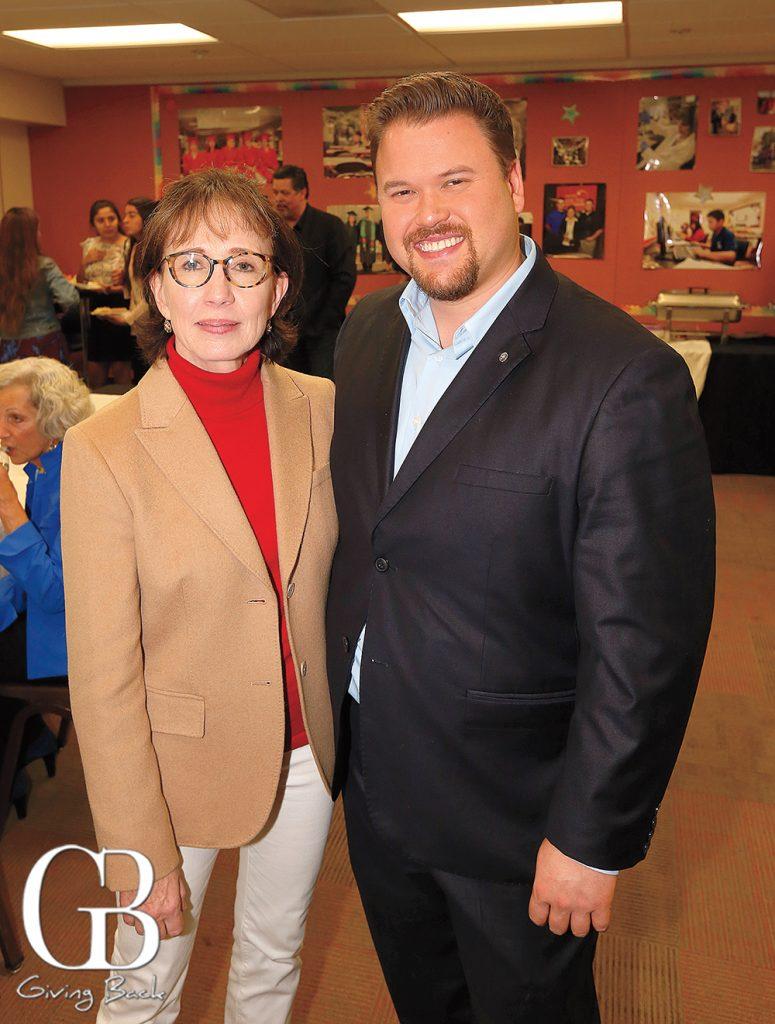 Catherine Stiefel and Jose Cruz
