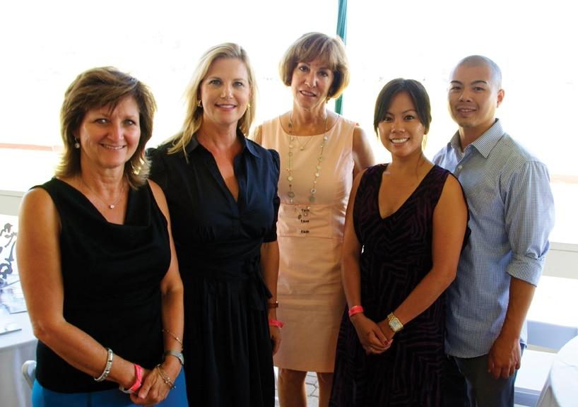 Cathy Pilkington, Dana Pardee, Jeri Freimuth, Denise Meneses and Man Hoang.JPG