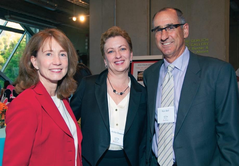 Cathy Stiefel, Anita Dawson and Ron Bell