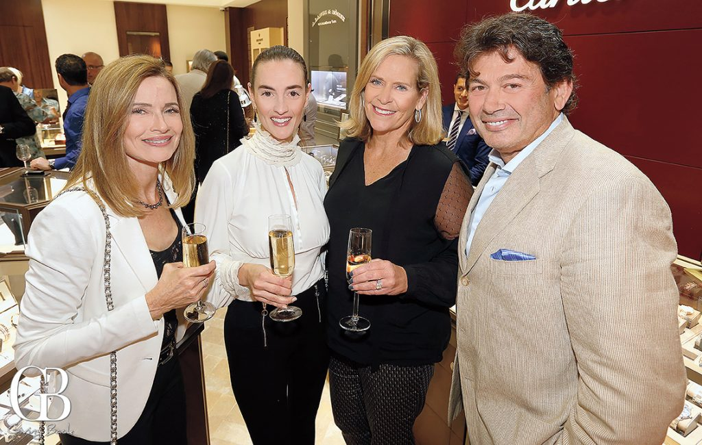 Cathy Andrews and Renata Vicente with Gaylene and Kleanthis Xanthopoulos