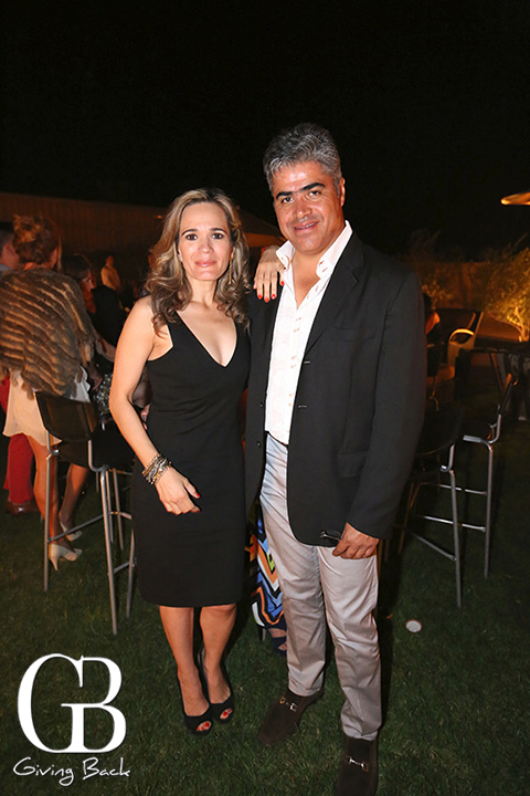 Cecilia Munguia y Eduardo Quiroz