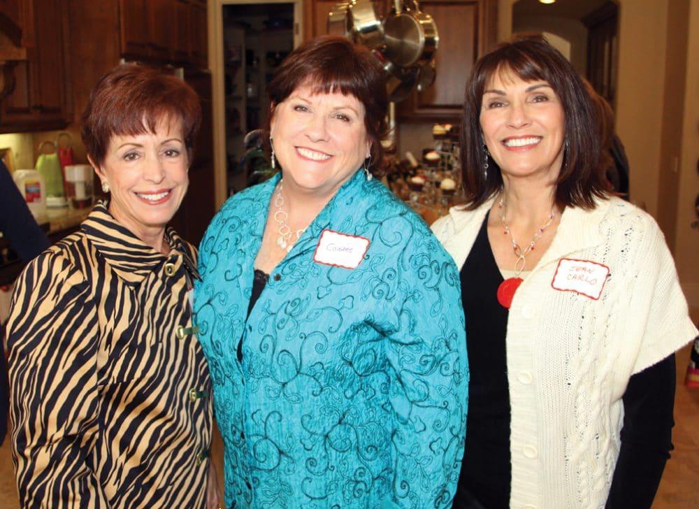 Cele Huntzinger, Connee Johnson and Jean Carlo.JPG