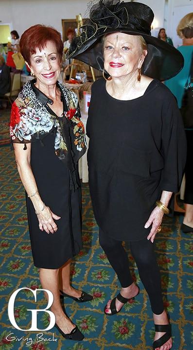 Cele Huntzinger and Lyn Nelson