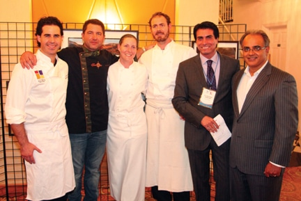 Celebrity Chefs with Vikram Sood +.JPG