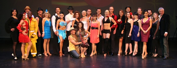 Celebrity Dancers and their partners.JPG