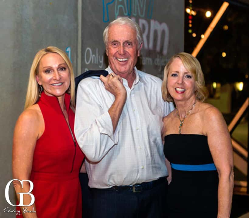 Celeste Hilling with Harvey and Sheryl White