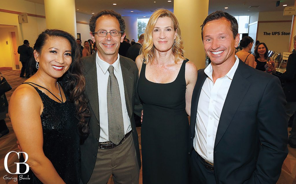 Celia and Benjamin Cravatt with Willa and Masis Kevorkian